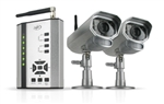 SVAT Digital Wireless DVR Security System with Receiver, SD Card for Recording and 2 Long Range Night Vision Cameras