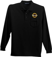 VHPA Men's Long Sleeve Classic Pocket Polo