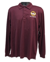 VHPA Men's Long Sleeve Classic Polo