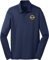 VHPA Men's Long Sleeve Performance Polo