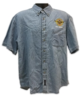 VHPA Men's Short Sleeve Denim