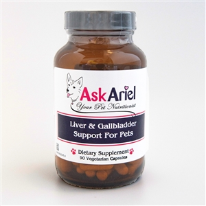 Liver & Gallbladder Supplement For Pets