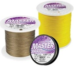 Cortland Master Braid Fishing Lines 200-300 Yard Spools