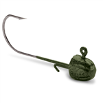 VMC Green Pumpkin Finesse Half Moon Jig