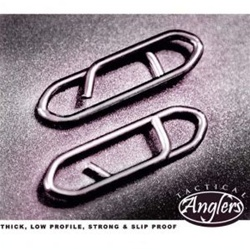 Tactical Anglers Power Clips - Fishing Terminal Tackle - Fast Strong Fishing Lure Connections