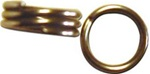Wolverine Split Rings for Fishing - Size 4 Terminal Tackle