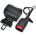 RBSB-BLACK-NC-60-ELE : RETRACTABLE SEAT BELT (N/C) 60 Inches Electronic Safety switch Included