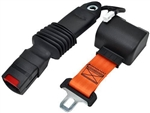 RBSB-CINCH-ORA-60-ELE : RETRACTABLE SEAT BELT (N/O) 60 Inches Electronic Safety switch Included