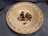 Medium Round Vegetable Bowl Metlox California Provincial Green Rooster