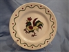 Salad Plate California Provincial Green Rooster