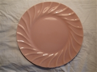 Dinner Plate-Peach #506ph-Satin Glaze-Metlox Yorkshire