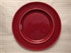 Salad Plate (w/repaired chip)-Metlox Colorstax Cranberry