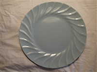Dinner Plate-Powder Blue #506pb-Satin Glaze-Metlox Yorkshire