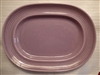 Medium Oval Platter-Metlox Colorstax Lilac