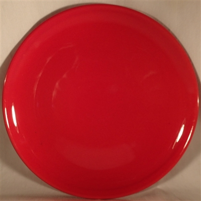 Dinner Plate #3706r Red Metlox Mardi Gras