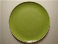 Luncheon Plate #050mg Medium Green Metlox Modern