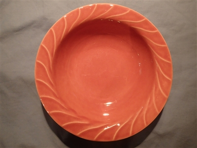 Medium Round Vegetable Bowl-Rose-Metlox 1942
