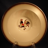 Cereal Bowl (Decorated) Metlox Red Rooster