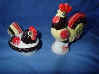 Metlox Red Rooster Salt Shaker (Hen on Nest Only)