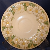 Saucer Metlox Sculptured Daisy