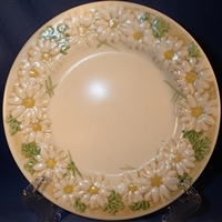 Salad Plate Metlox Sculptured Daisy