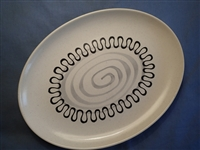 Large Oval Platter #17-California Aztec