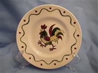Bread & Butter Plate California Provincial Green Rooster