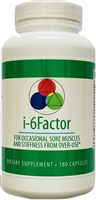 Sedca-Ceutics i-6Factor Soft Tissue Anti-inflammatory Support (180 caps)