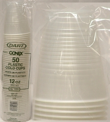 12oz. TRANSLUCENT CUPS