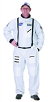 Adult White Astronaut Suit Small