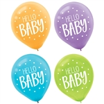 Fisher Price Hello Baby Printed Latex Balloon