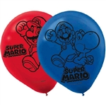 Super Mario Bros 12in Balloons