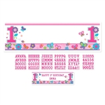 Sweet Birthday Girl Personalized Giant Sign Banner