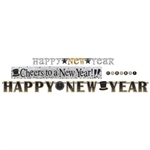 Happy New Year Letter Banner Multi Pack