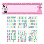 Minnie's Fun to Be One Personalized Giant Banner