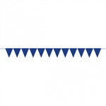 CREATE YOUR OWN BLUE PENNANT FOR BALLOONS