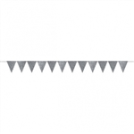 CREATE YOUR OWN SILVER PENNANT FOR BALLOONS