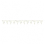 CREATE YOUR OWN RAINBOW DOTS PENNANT FOR BALLOONS