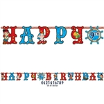 Jake and the Never Land Pirates Birthday Banner