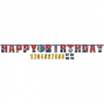 Thomas The Tank All Aboard Add An Age Birthday Banner