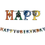 Harry Potter Add An Age Birthday Letter Banner