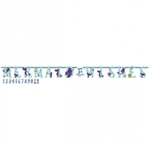 Mermaid Wishes Jumbo Letter Banner