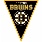 Boston Bruins NHL Pennant Banner