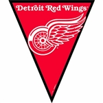 Detroit Red Wings NHL Pennant Banner
