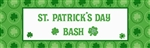 St. Patricks Day Personalized Giant Sign