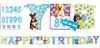 Party Pups Birthday Letter Banner