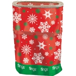 Snowflake Flings Bin Garbage/Recyling Bag