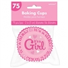 IT'S A GIRL BAKING CUPS