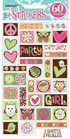 HIPPIE CHICK STICKER SHEETS