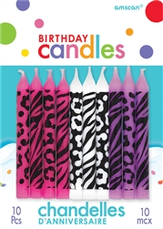 Animal Print Candle Assorted Candles
